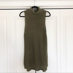 Lk New, Olive green cowl neck sweater